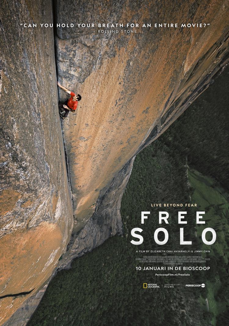 filmposter van free solo